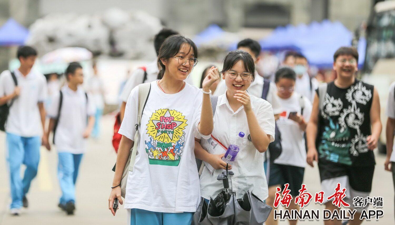 海南:高考表情