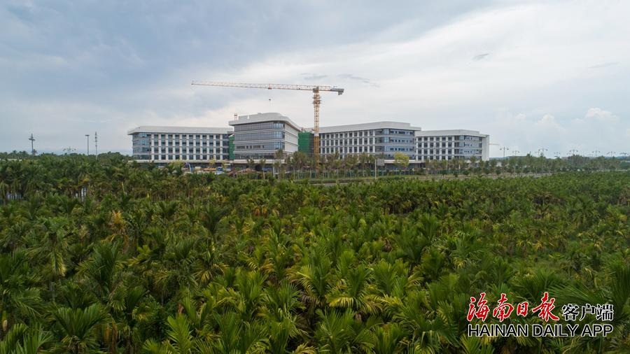 博鳌研究型医院加快建设 国庆节前竣工
